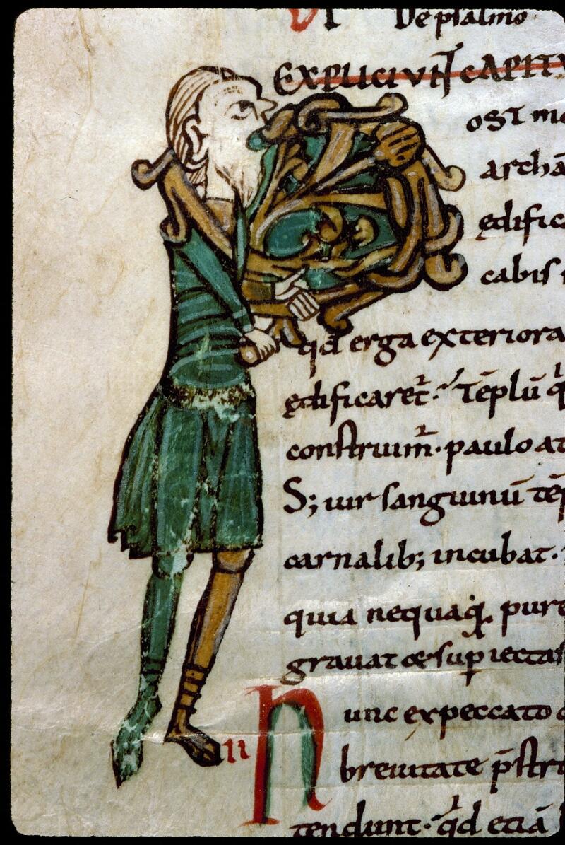 Angers, Bibl. mun., ms. 0195, f. 115v - vue 2