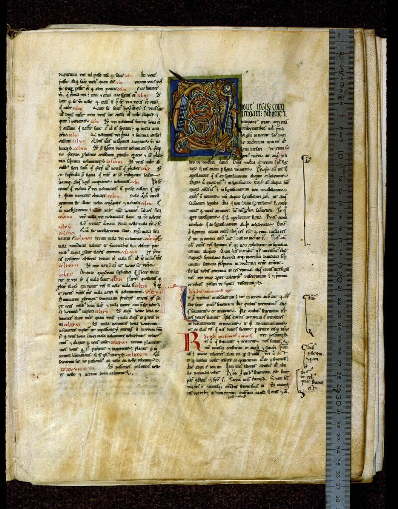 Angers, Bibl. mun., ms. 0199, f. 003 - vue 1