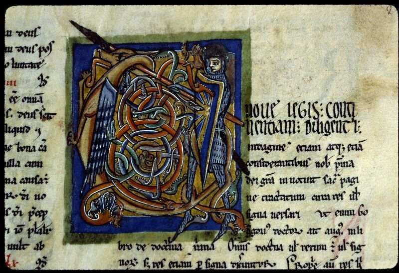 Angers, Bibl. mun., ms. 0199, f. 003 - vue 3