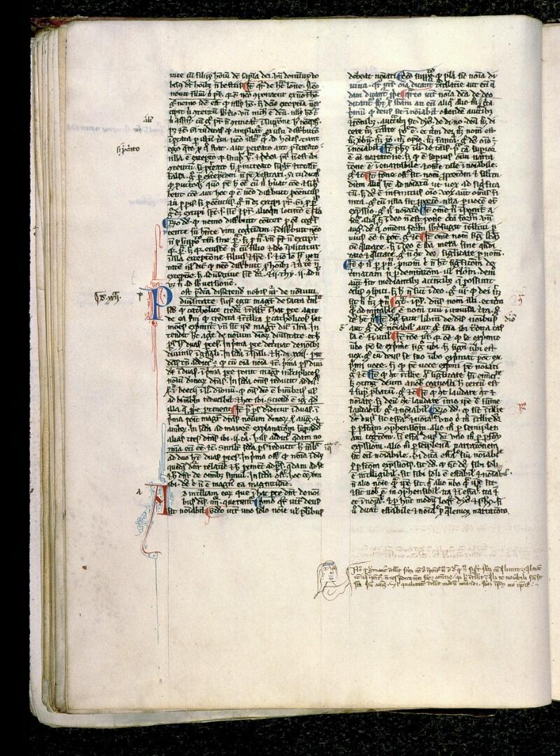 Angers, Bibl. mun., ms. 0201, f. 074v - vue 1