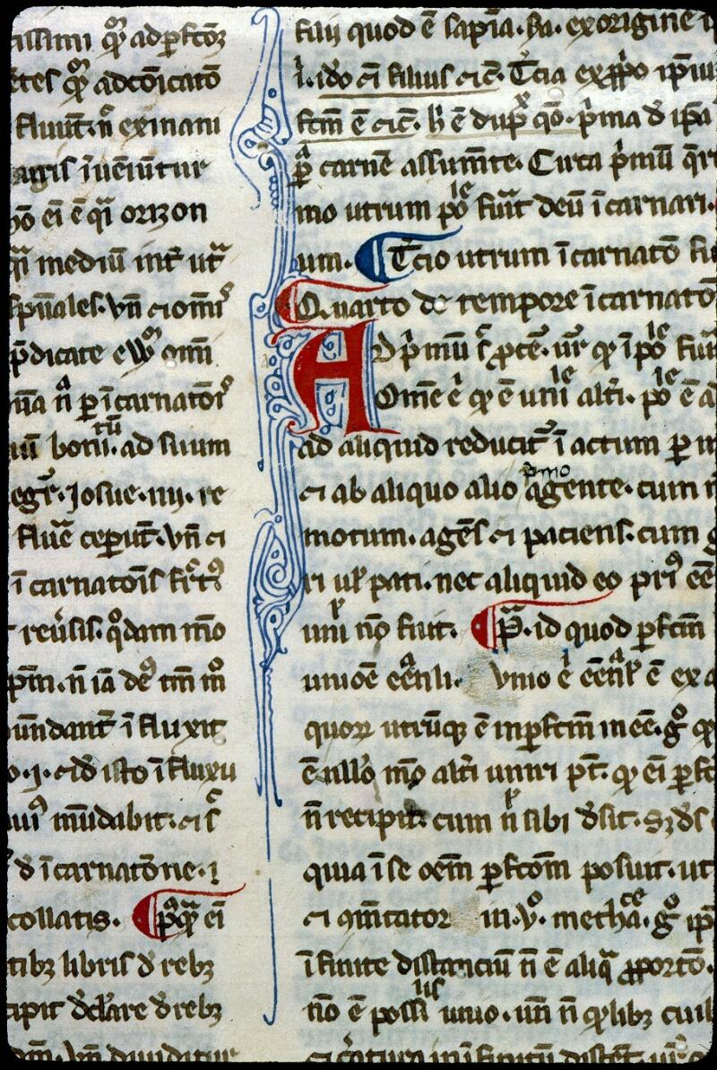 Angers, Bibl. mun., ms. 0206, f. 001 - vue 5