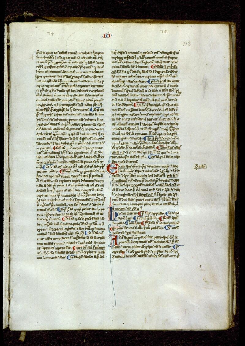 Angers, Bibl. mun., ms. 0206, f. 112