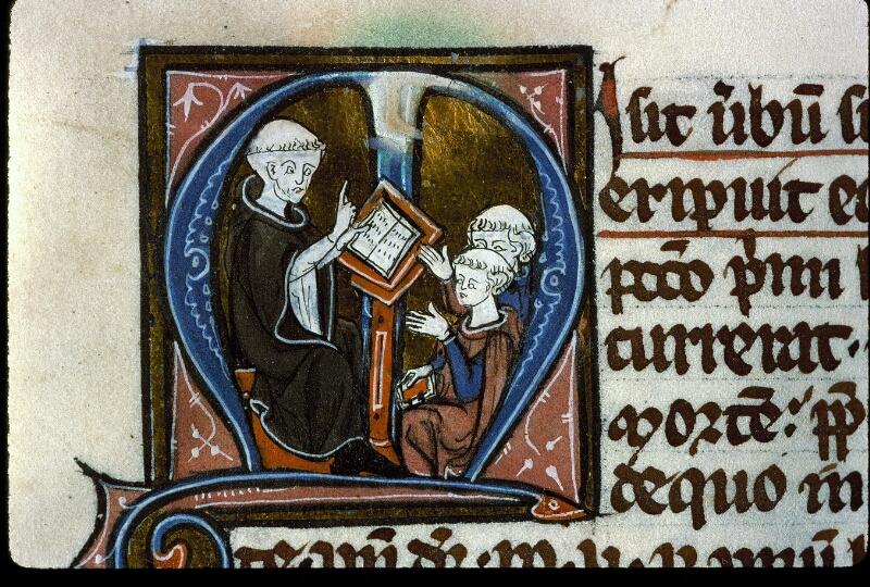 Angers, Bibl. mun., ms. 0208, f. 001 - vue 3