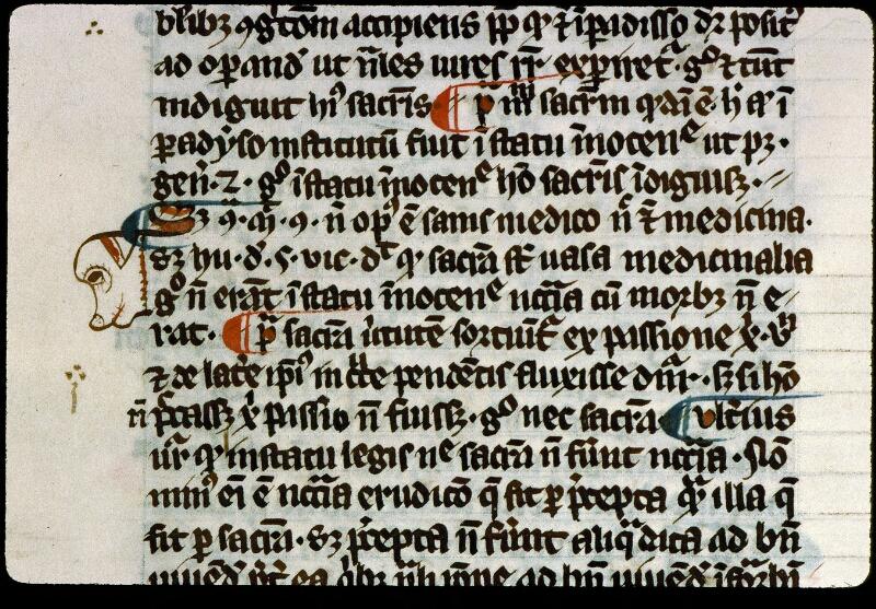 Angers, Bibl. mun., ms. 0208, f. 002v - vue 2