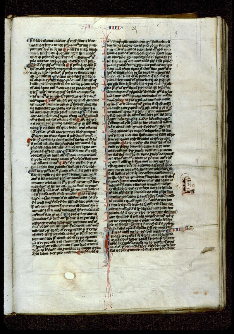 Angers, Bibl. mun., ms. 0208, f. 009 - vue 1
