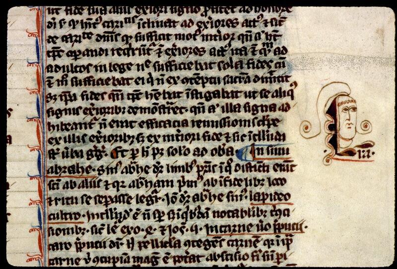 Angers, Bibl. mun., ms. 0208, f. 009 - vue 2