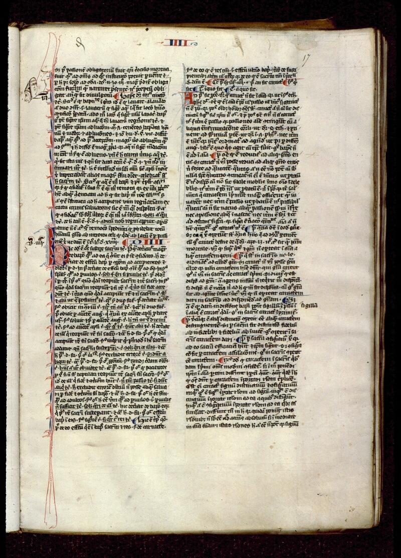 Angers, Bibl. mun., ms. 0208, f. 017 - vue 1