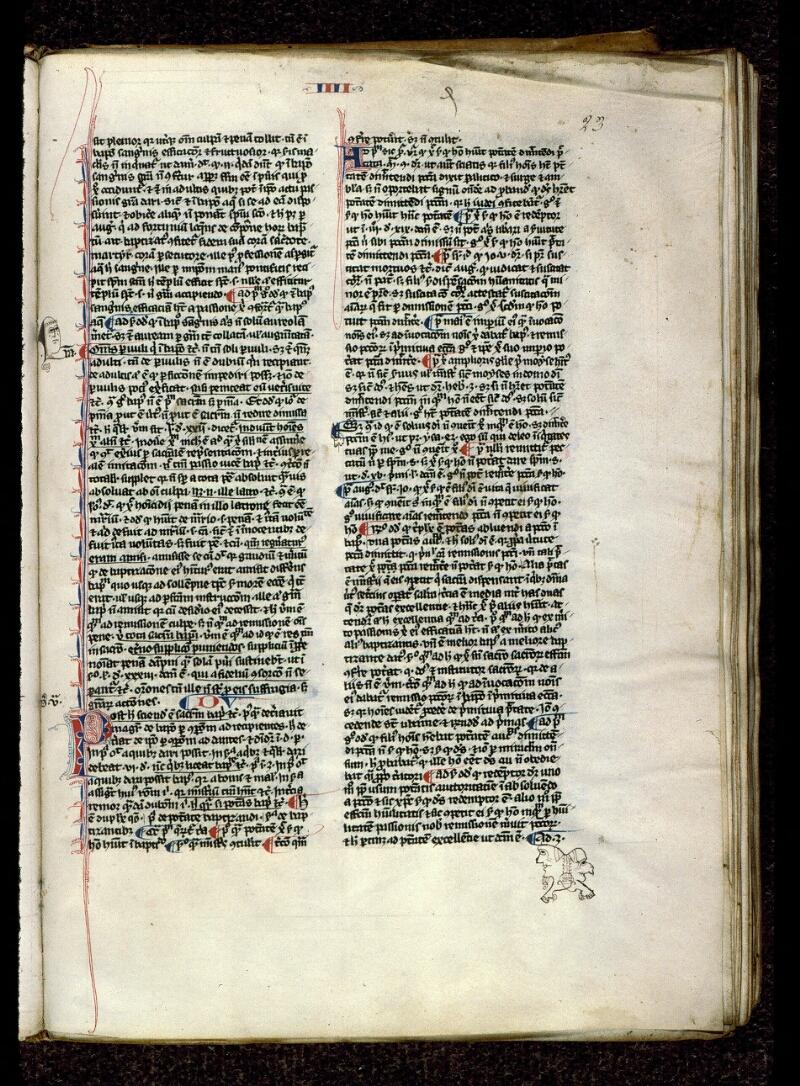 Angers, Bibl. mun., ms. 0208, f. 023 - vue 1