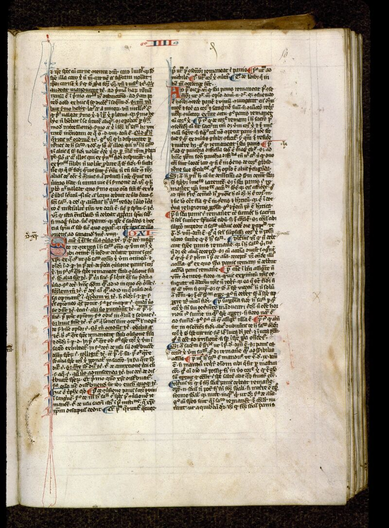 Angers, Bibl. mun., ms. 0208, f. 050 - vue 1