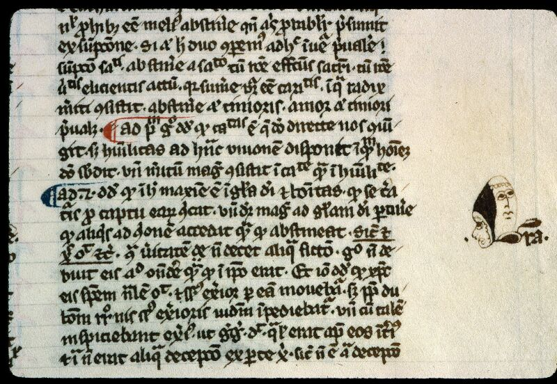 Angers, Bibl. mun., ms. 0208, f. 062 - vue 2