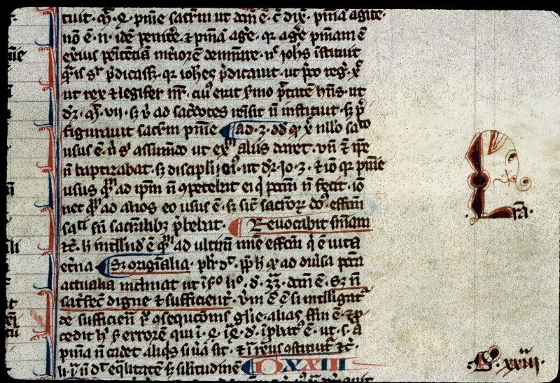 Angers, Bibl. mun., ms. 0208, f. 123 - vue 2