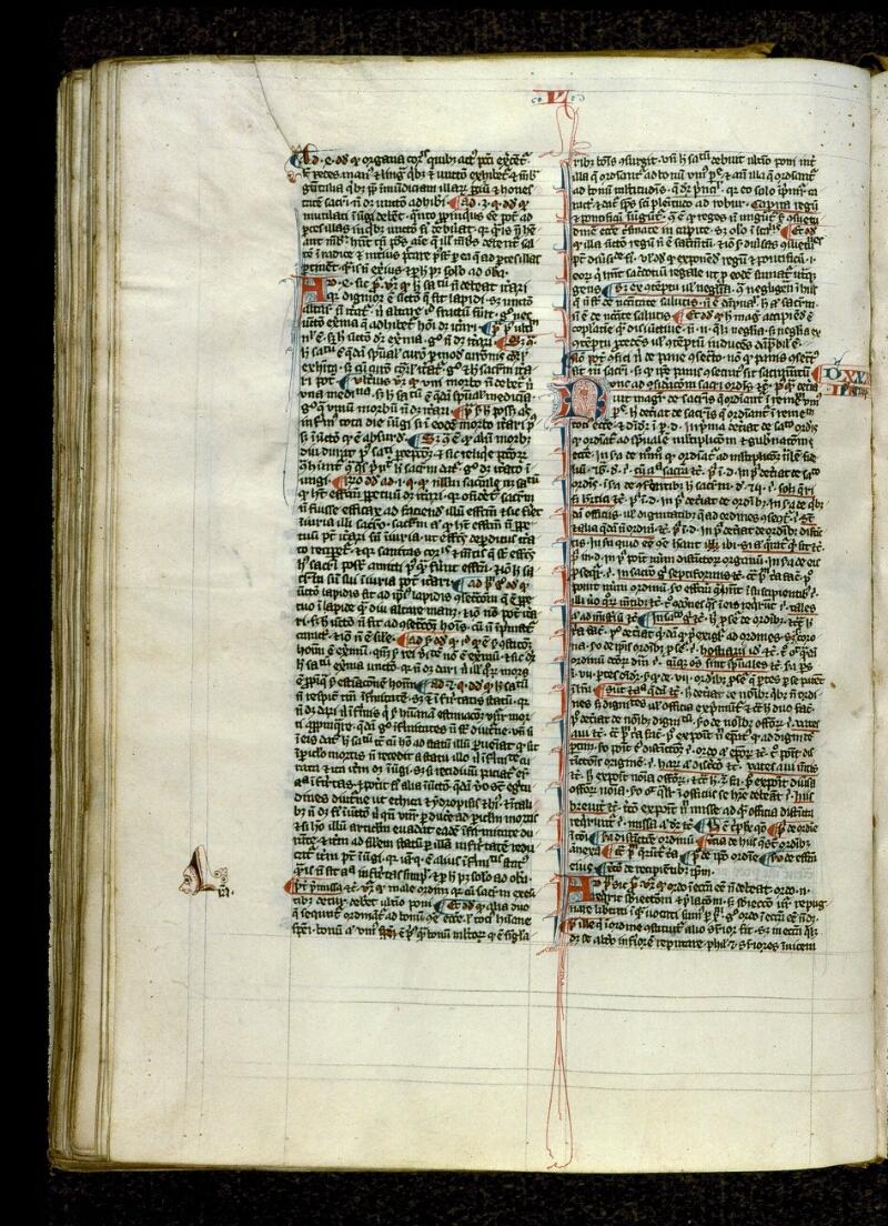 Angers, Bibl. mun., ms. 0208, f. 126v - vue 1