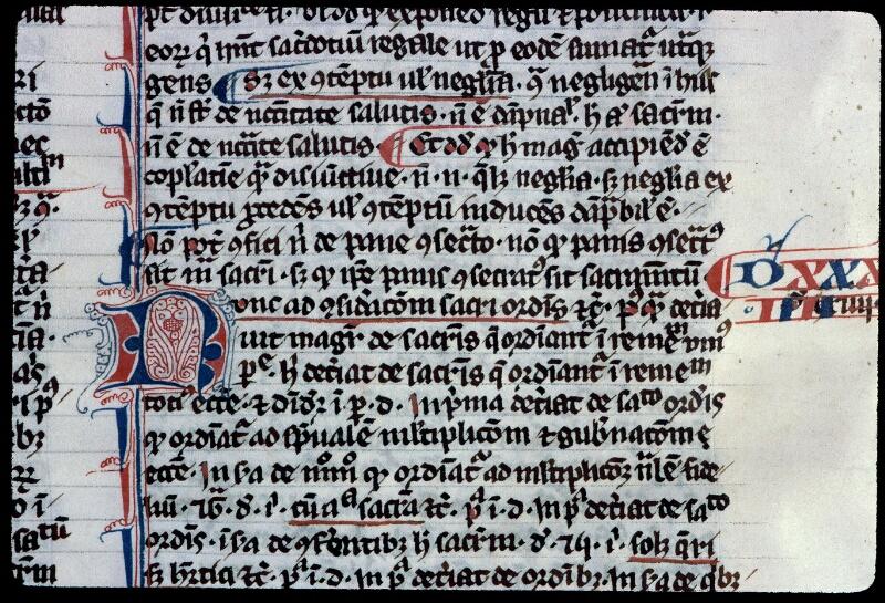 Angers, Bibl. mun., ms. 0208, f. 126v - vue 2