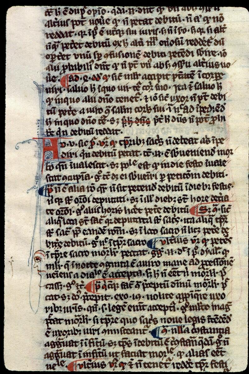 Angers, Bibl. mun., ms. 0208, f. 148v - vue 2