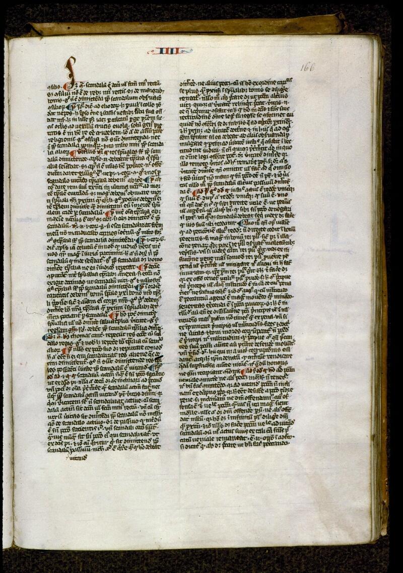 Angers, Bibl. mun., ms. 0208, f. 166