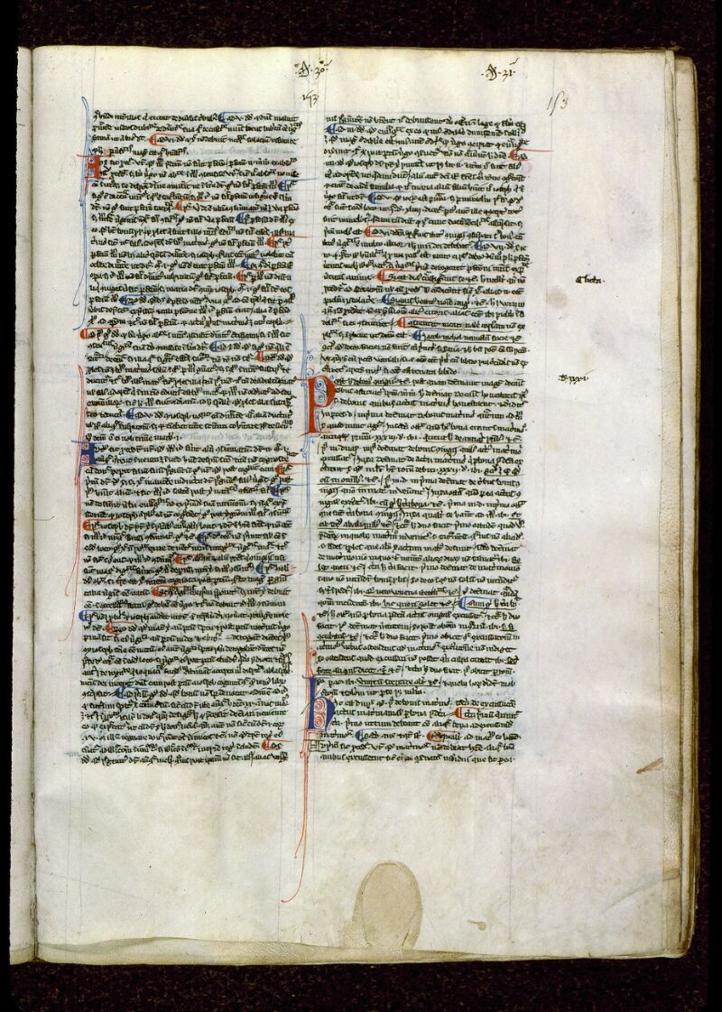 Angers, Bibl. mun., ms. 0209, f. 153