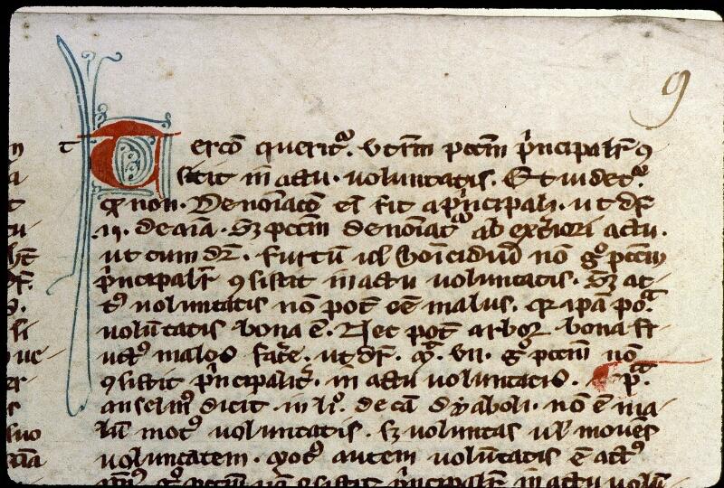Angers, Bibl. mun., ms. 0210, f. 009