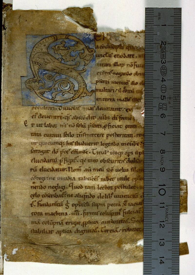 Angers, Bibl. mun., ms. 0213, f. 001 - vue 1