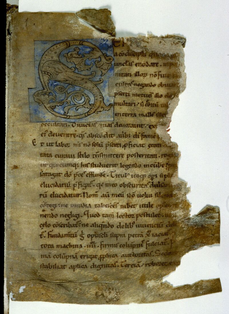 Angers, Bibl. mun., ms. 0213, f. 001 - vue 2