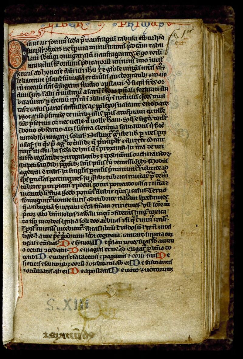 Angers, Bibl. mun., ms. 0219, f. 001 - vue 2