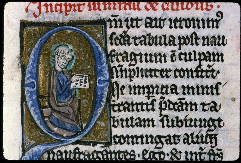 Angers, Bibl. mun., ms. 0220, f. 001 - vue 3
