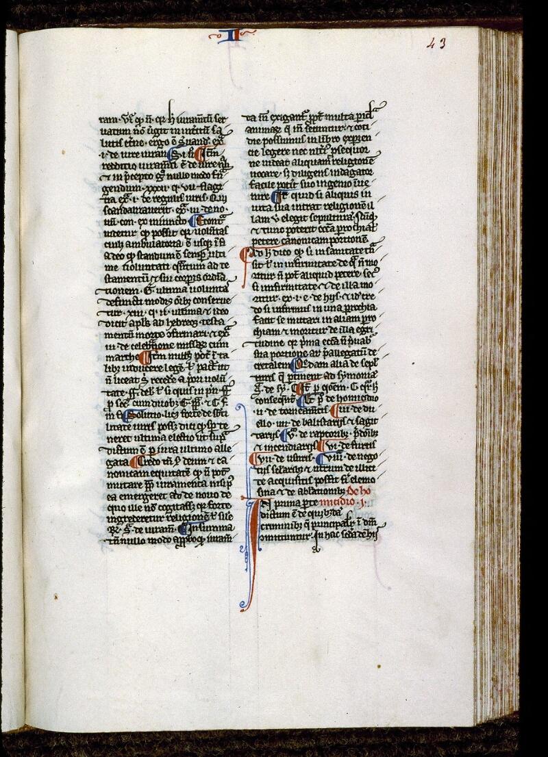 Angers, Bibl. mun., ms. 0220, f. 043