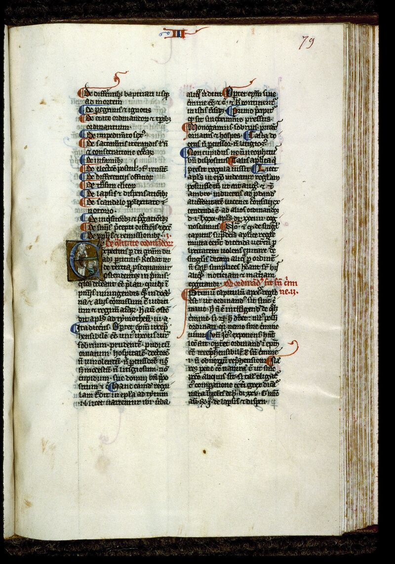 Angers, Bibl. mun., ms. 0220, f. 079 - vue 1