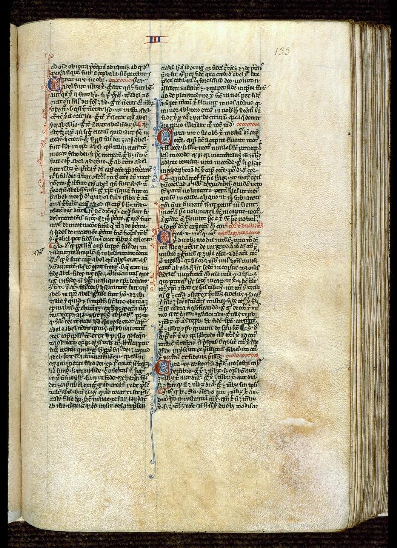 Angers, Bibl. mun., ms. 0222, f. 133
