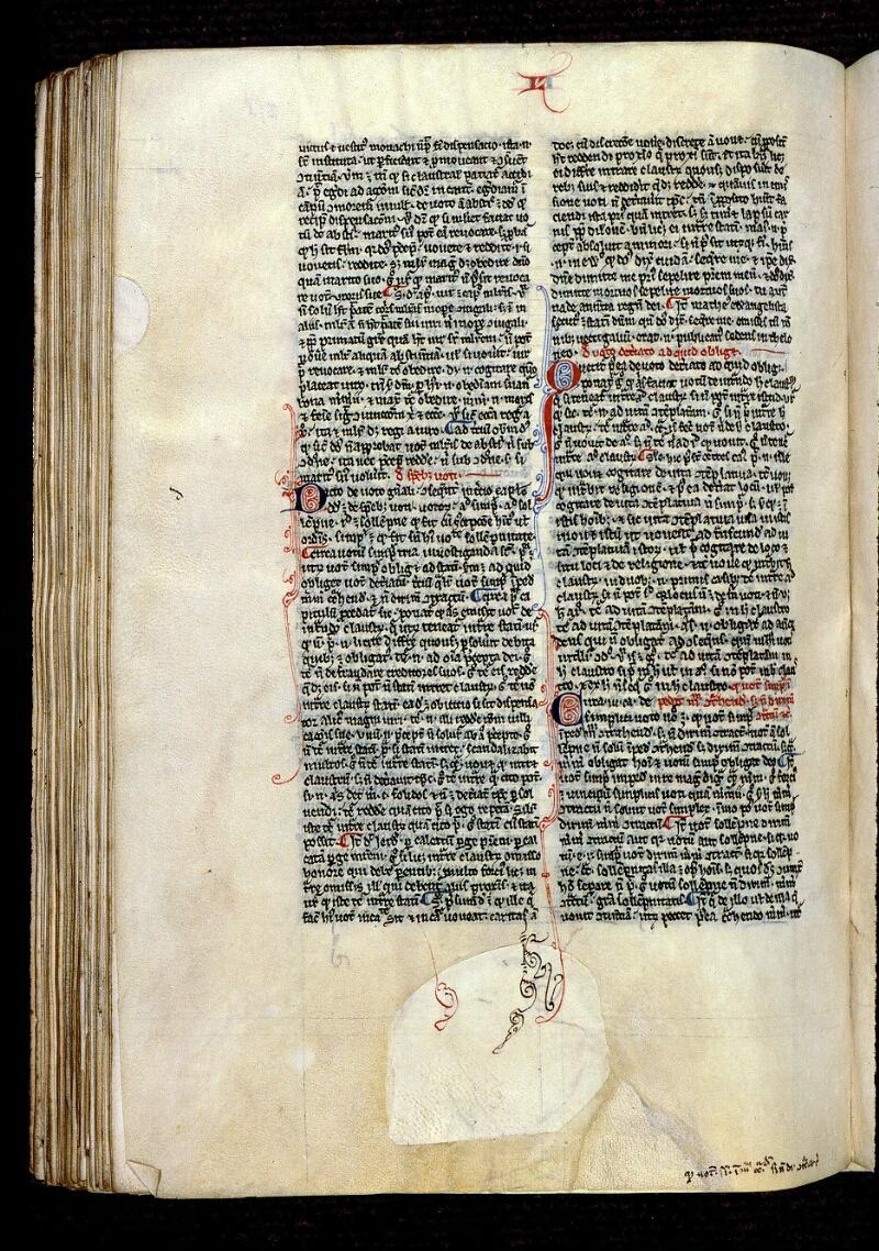 Angers, Bibl. mun., ms. 0222, f. 258v