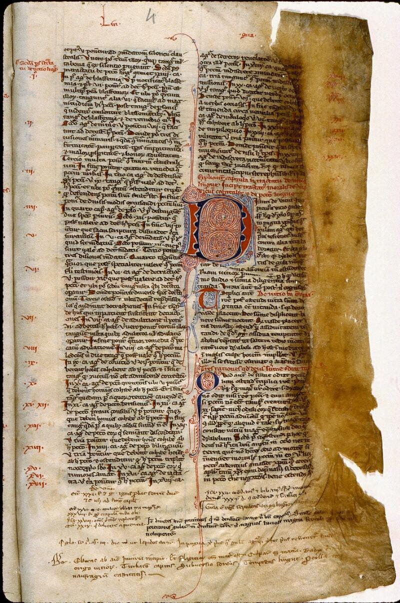 Angers, Bibl. mun., ms. 0225, f. 004
