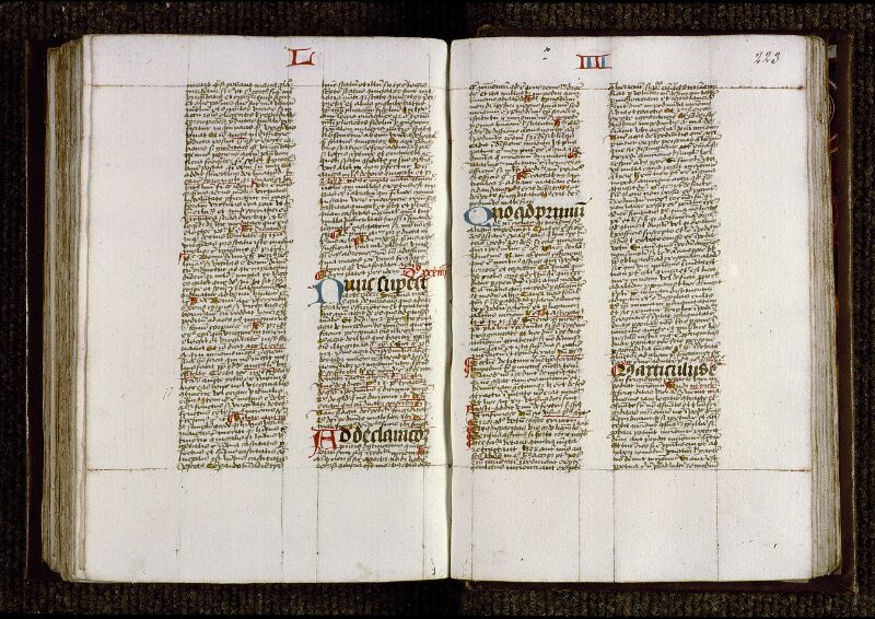 Angers, Bibl. mun., ms. 0230, f. 222v-223