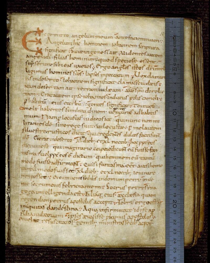 Angers, Bibl. mun., ms. 0234, f. 010 - vue 1