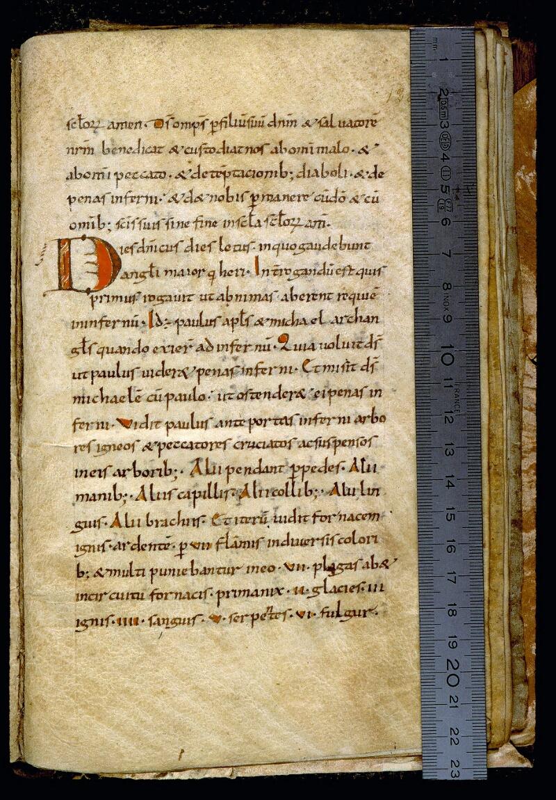 Angers, Bibl. mun., ms. 0236, f. 128 - vue 1
