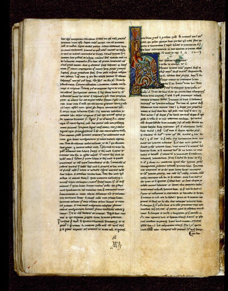 Angers, Bibl. mun., ms. 0242, f. 032v - vue 1