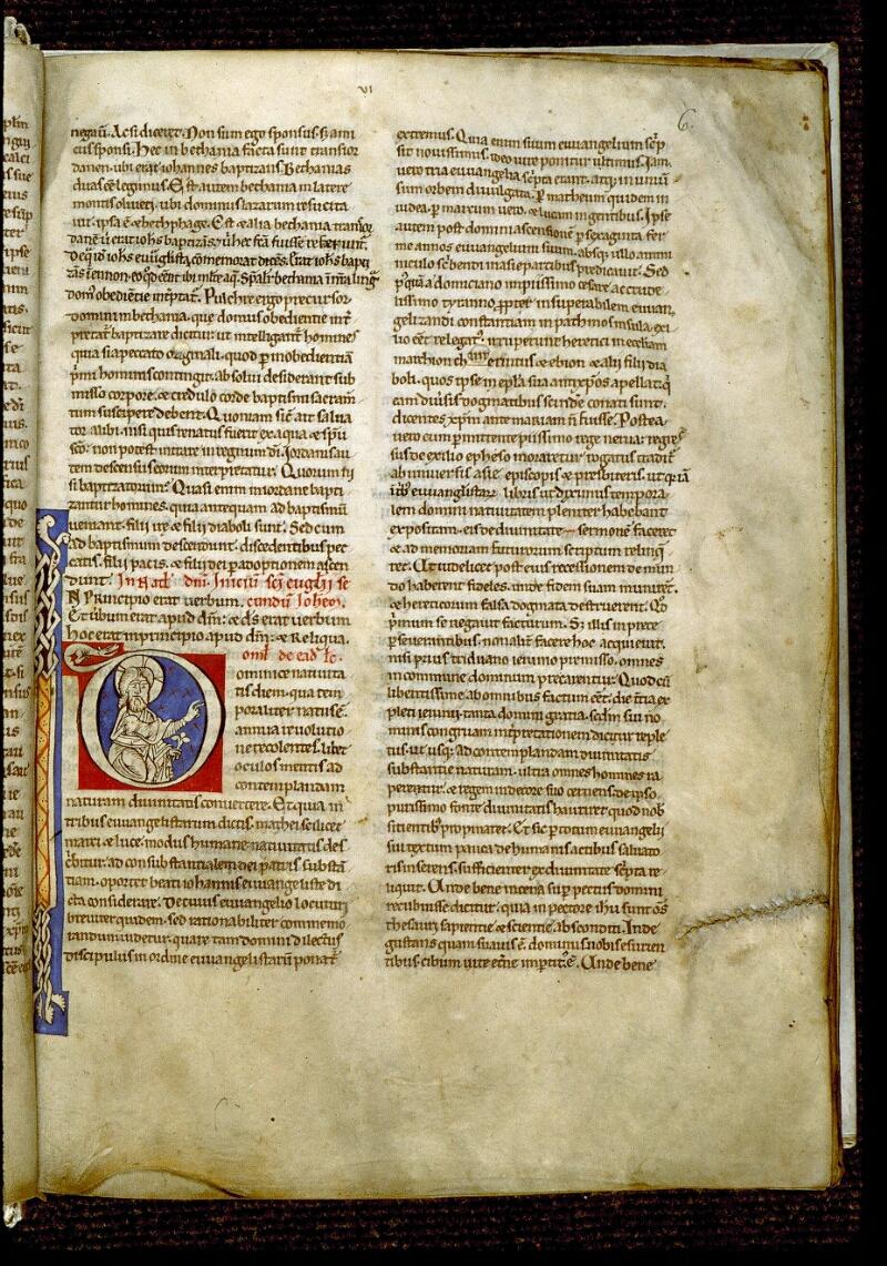 Angers, Bibl. mun., ms. 0243, f. 006 - vue 2