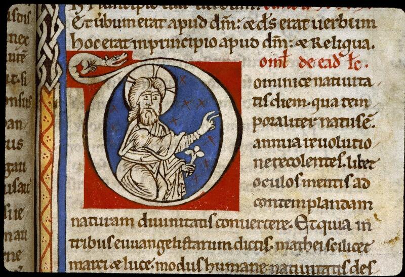 Angers, Bibl. mun., ms. 0243, f. 006 - vue 3