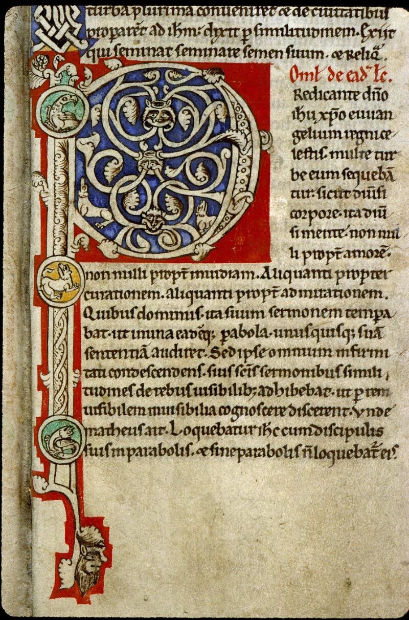 Angers, Bibl. mun., ms. 0243, f. 042 - vue 2