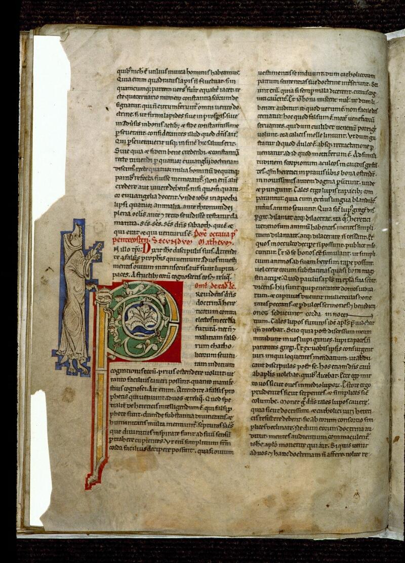 Angers, Bibl. mun., ms. 0243, f. 108v - vue 1