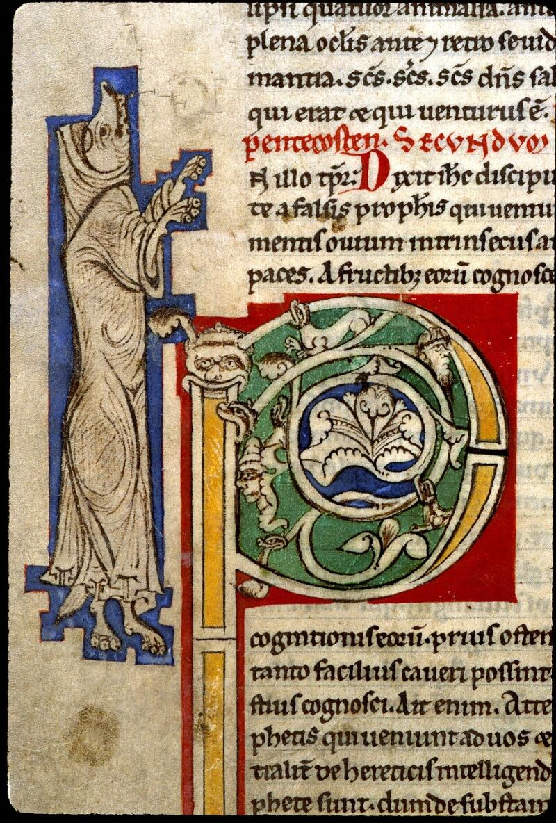 Angers, Bibl. mun., ms. 0243, f. 108v - vue 2