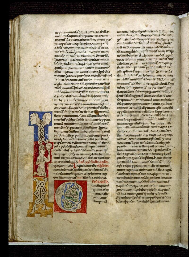 Angers, Bibl. mun., ms. 0243, f. 128v - vue 1