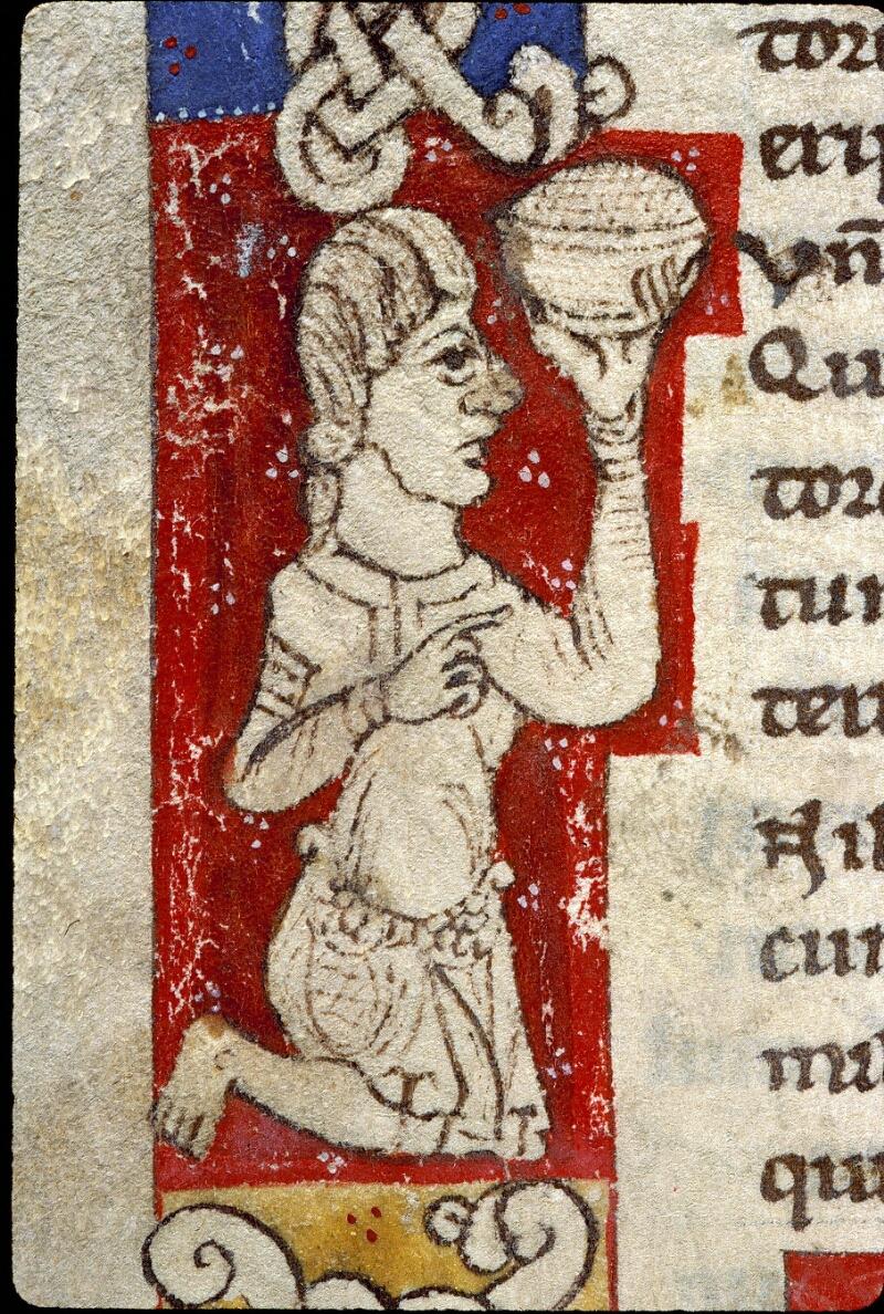 Angers, Bibl. mun., ms. 0243, f. 128v - vue 3