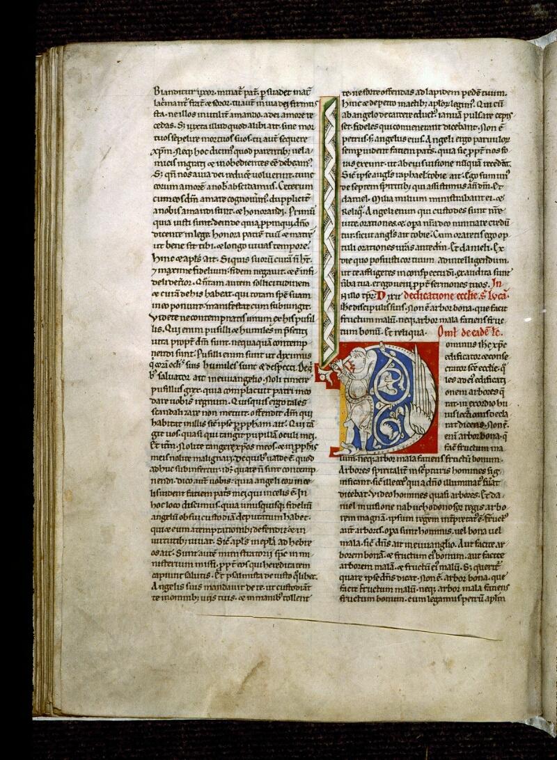 Angers, Bibl. mun., ms. 0243, f. 142v - vue 1