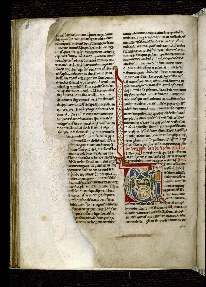 Angers, Bibl. mun., ms. 0243, f. 148v - vue 1