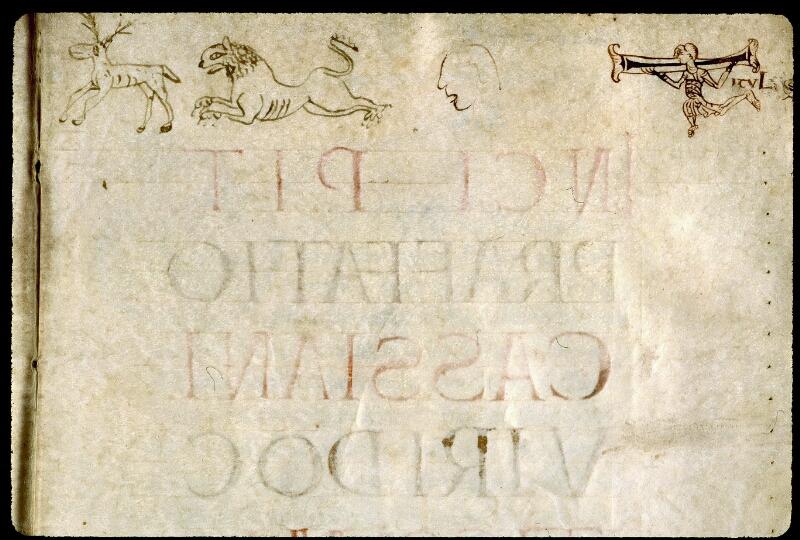 Angers, Bibl. mun., ms. 0261, f. 001