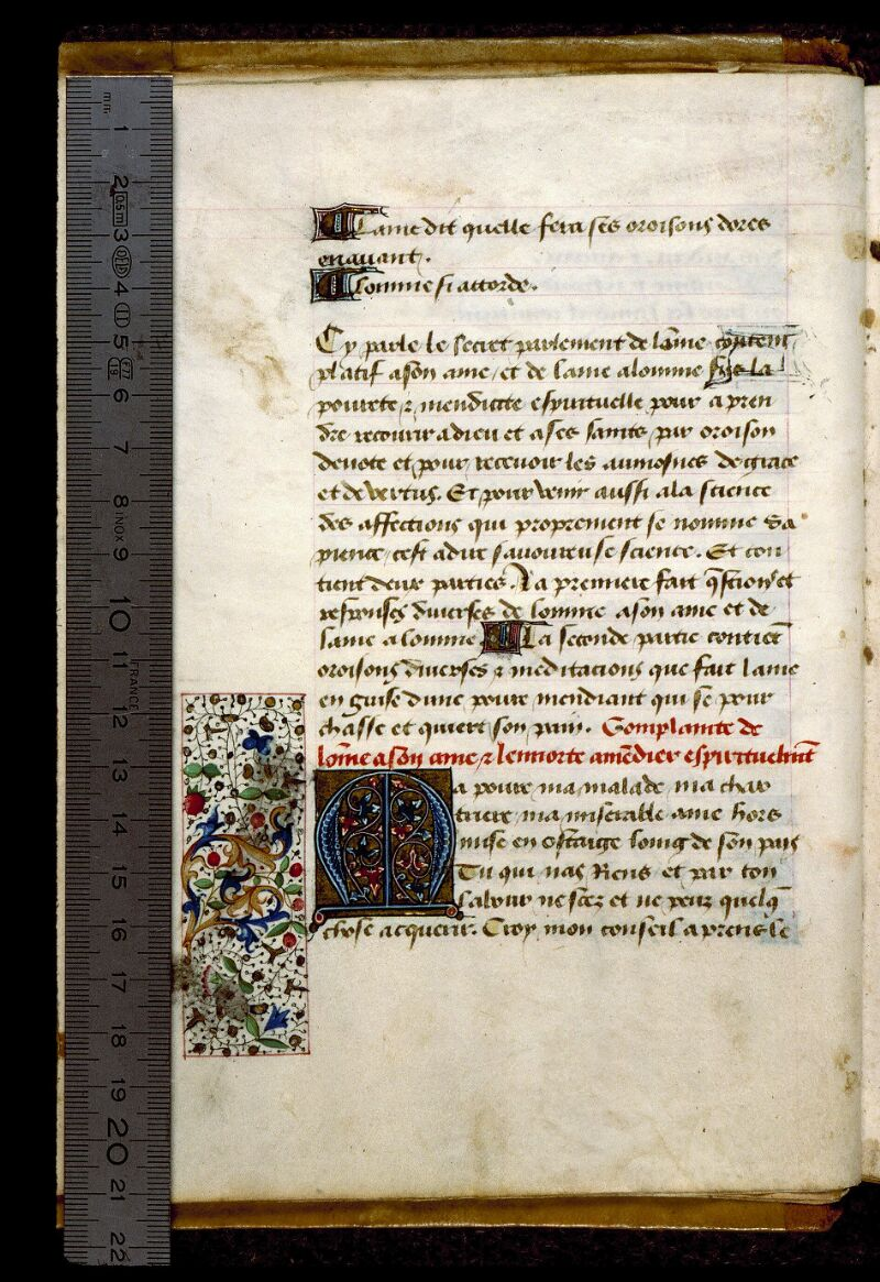 Angers, Bibl. mun., ms. 0269, f. 002v - vue 1