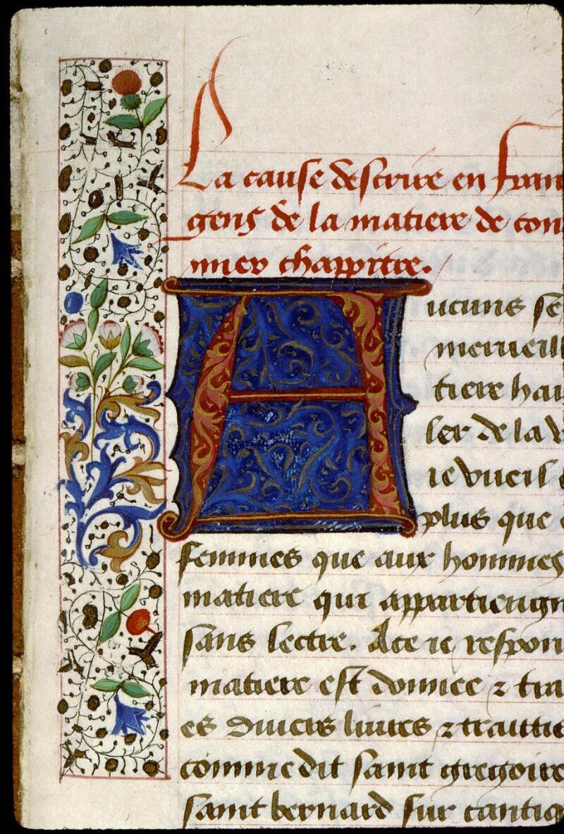 Angers, Bibl. mun., ms. 0269, f. 081 - vue 2