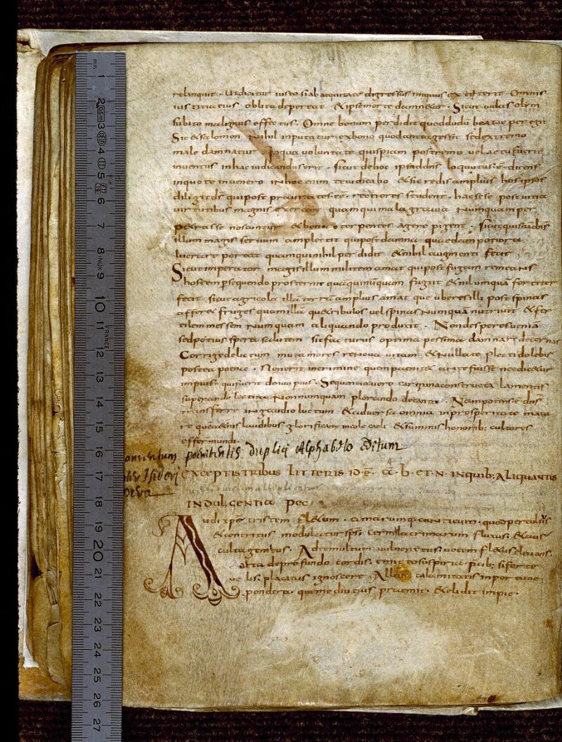 Angers, Bibl. mun., ms. 0275, f. 095v - vue 1