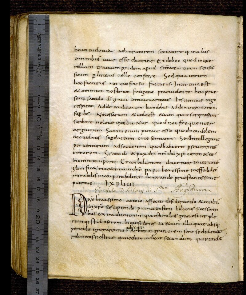 Angers, Bibl. mun., ms. 0276, f. 122v - vue 1