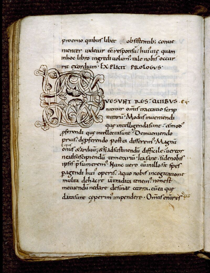 Angers, Bibl. mun., ms. 0278, f. 005v - vue 1