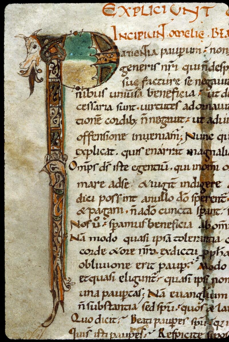 Angers, Bibl. mun., ms. 0280, f. 001v - vue 3